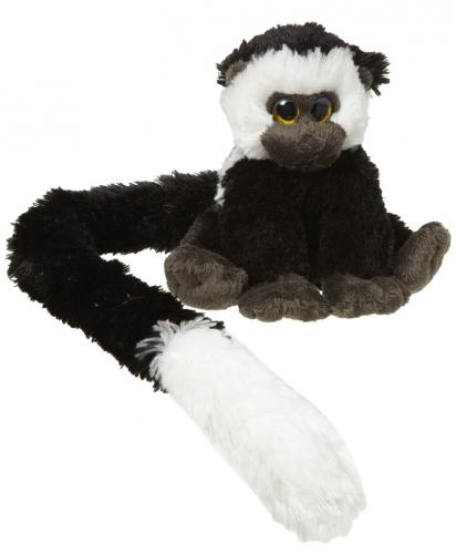 Apen knuffel 16 cm met lange staart