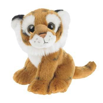 Baby tijger knuffel 18 cm