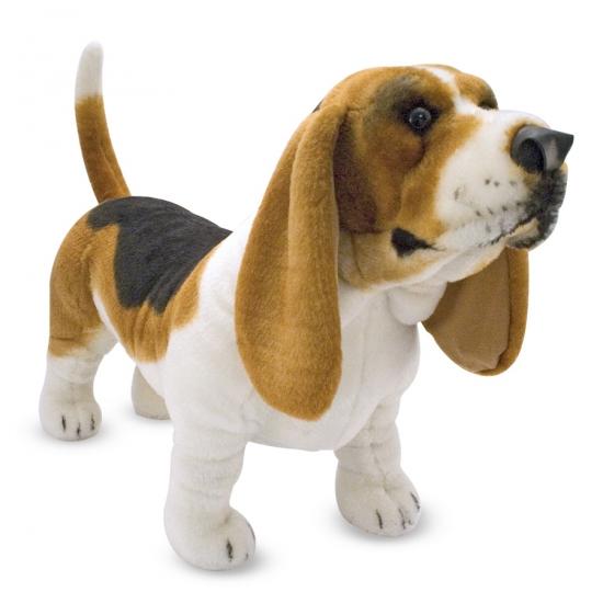 Basset hond knuffeldieren 65 cm