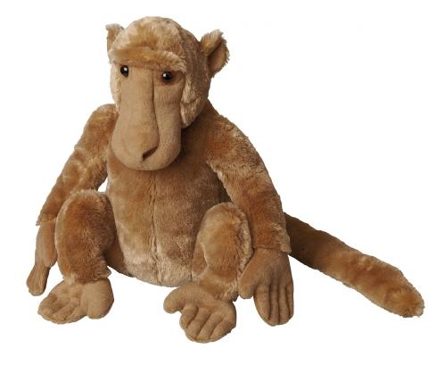 Baviaan aap knuffel 30 cm