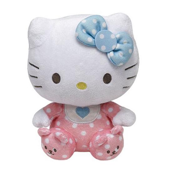 Beanie knuffels baby Hello Kitty 15 cm