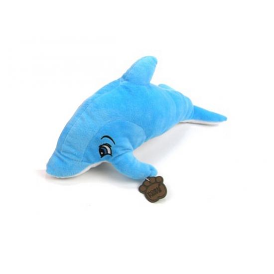 Blauwe dolfijnen knuffels 48 cm