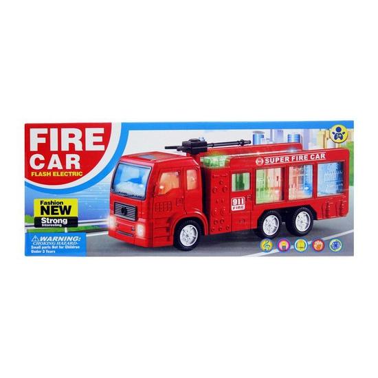 Kinder brandweerauto met licht en geluid