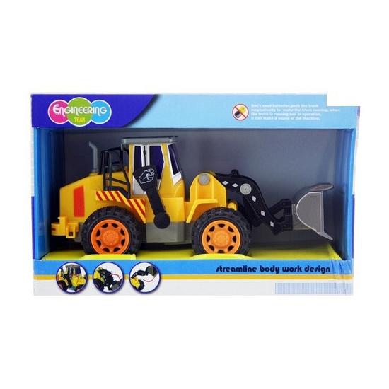 Kinder speelgoed shovel geel