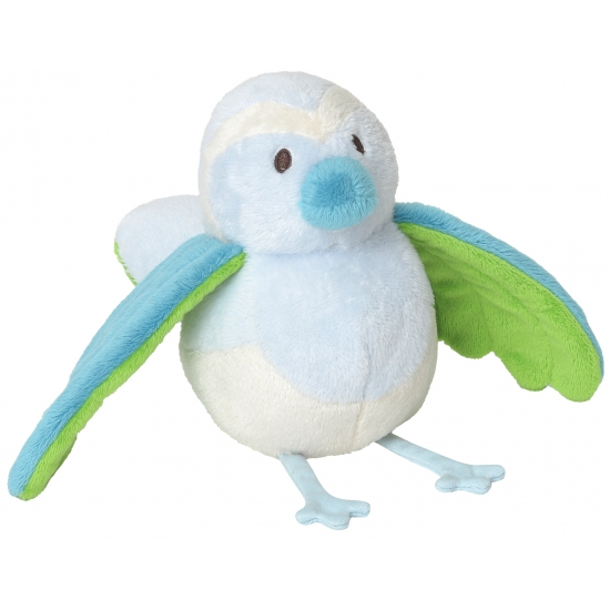 Kraamkado rammelaar pluche vogel 25 cm