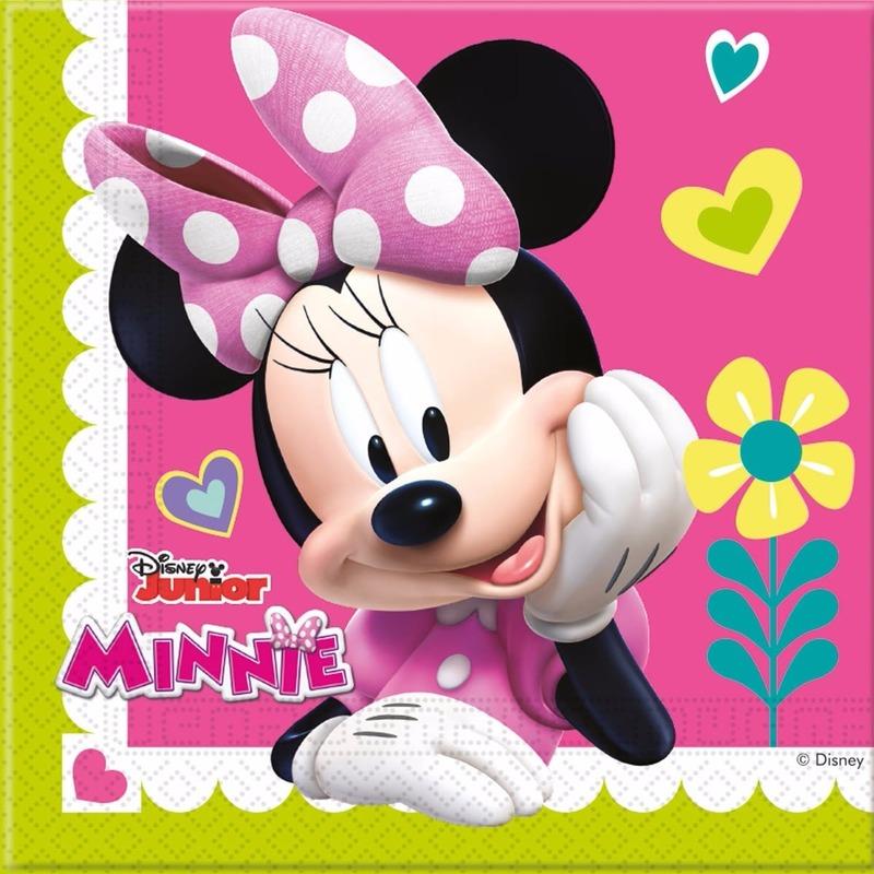 Minnie Mouse servetten 20 stuks