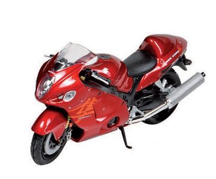 Rode speelgoed motor Suzuki