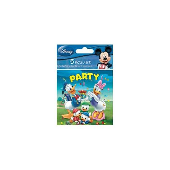 Verjaardagspartijtje uitnodigingen Donald