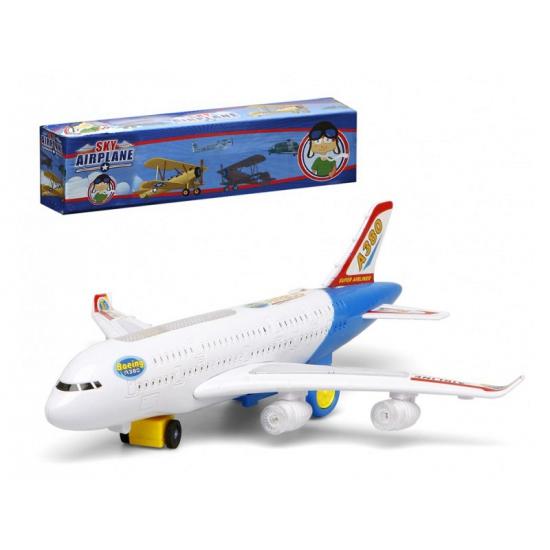 Wit Speelgoed Vliegtuig Met Licht En Geluid Trampoline winkel kopen