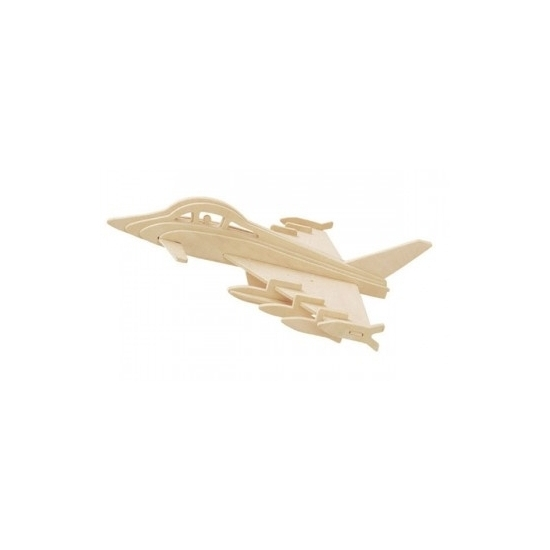 Geen 3D puzzel van straaljager eurofighter Educatief speelgoed