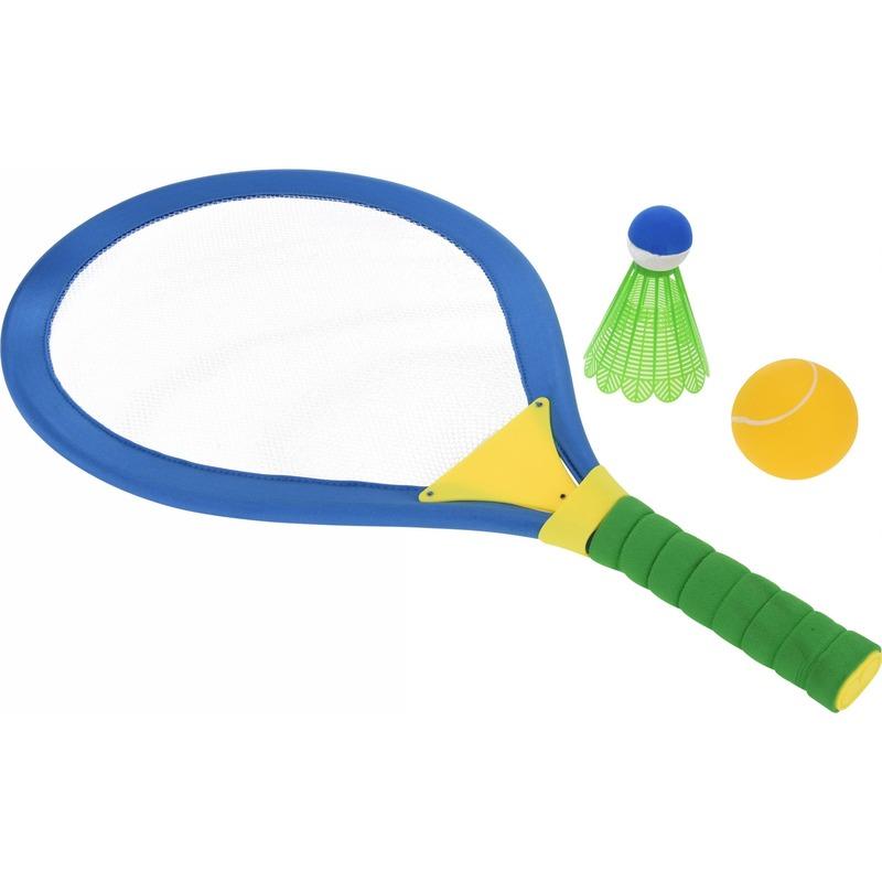 Buitenspeelgoed Geen 4 delige tennis badminton set groot