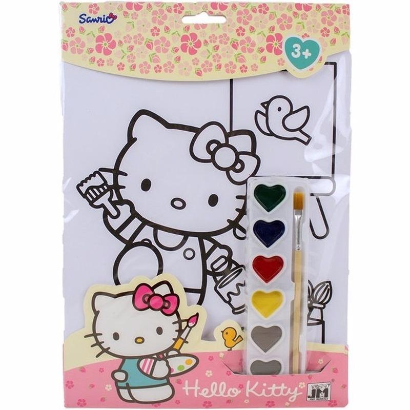 A4 Schilderset Hello Kitty