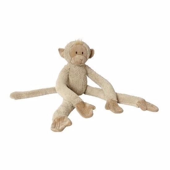 Apen knuffels van pluche 85 cm
