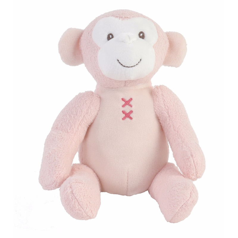 Baby knuffel aap Marly 17 cm
