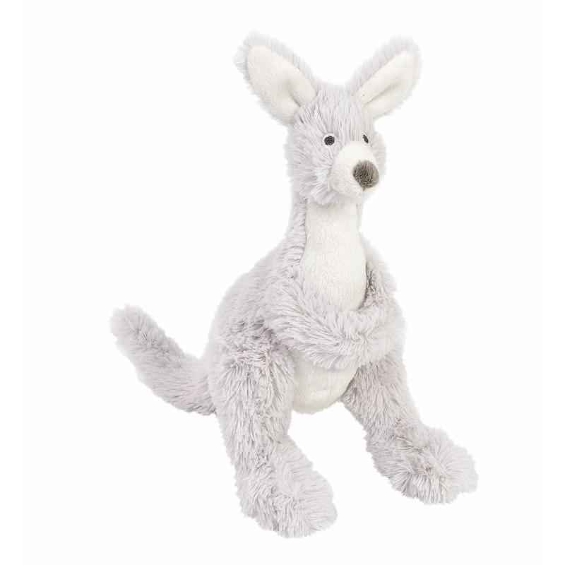 Baby knuffeltje kangoeroe 20 cm