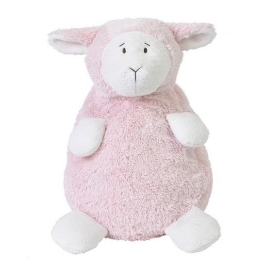 Baby knuffeltje roze lammetje Lammy 35 cm