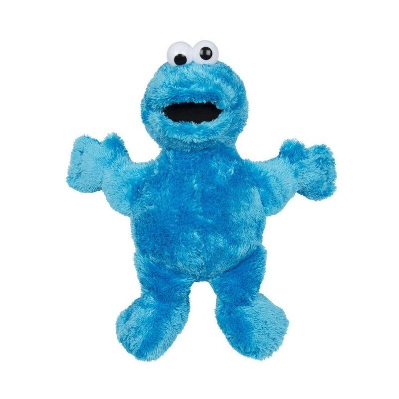 Blauwe grote pluche Koekiemonster Sesamstraat knuffel/pop 100 cm