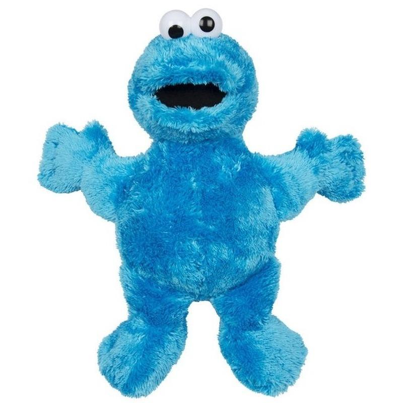 Blauwe pluche Koekiemonster Sesamstraat knuffel/pop 38 cm
