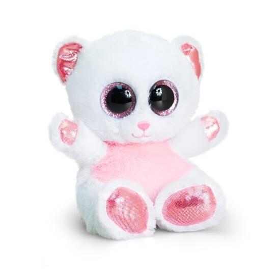 Cartoon ijsberen knuffeltje 15 cm