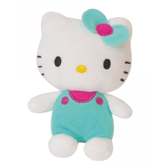 Cartoon knuffel Hello Kitty groen