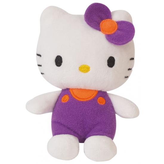 Cartoon knuffel Hello Kitty paars