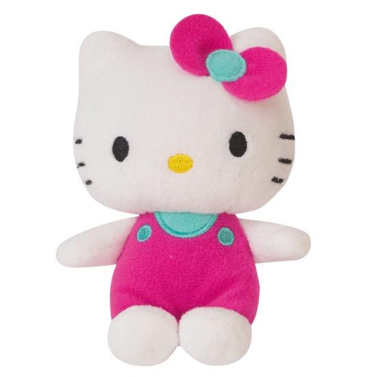 Cartoon knuffel Hello Kitty roze