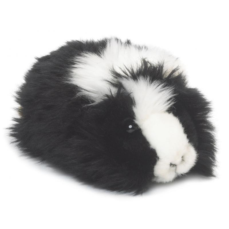 Cavia knuffeldier WNF zwart 19 cm