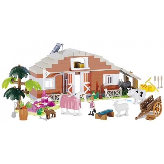 Cobi Cobi boerderij bouwstenen set Educatief speelgoed