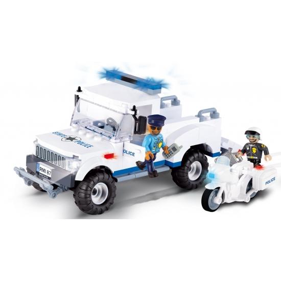 Cobi politiewagen bouwstenen set Cobi Educatief speelgoed