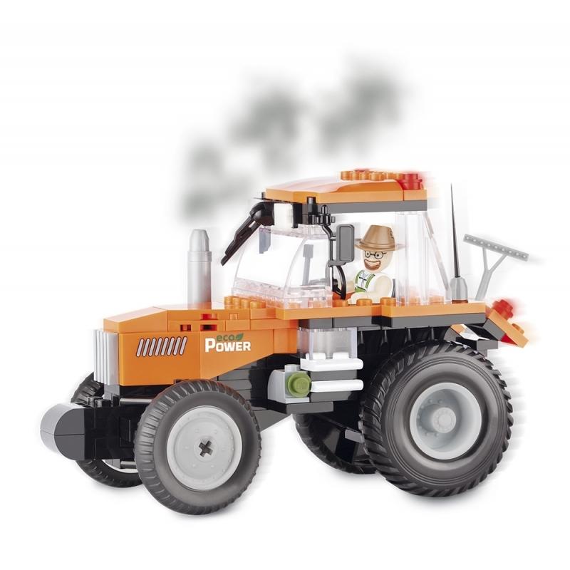 Cobi tractor bouwstenen set Cobi Educatief speelgoed
