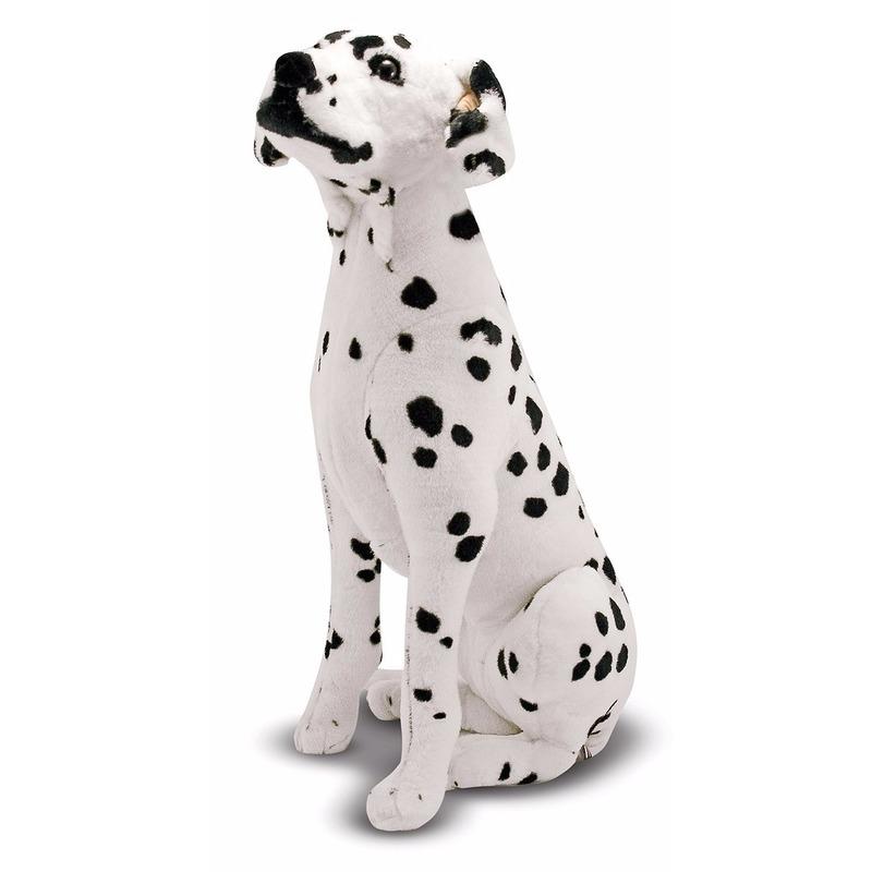 Dalmatier hond knuffel 81 cm