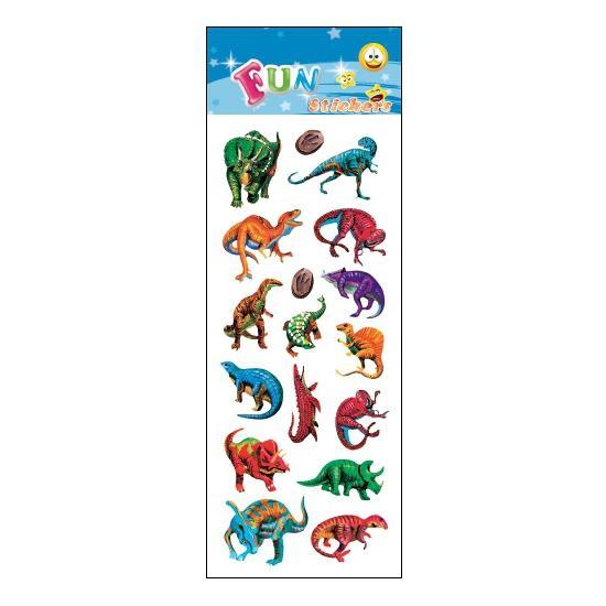 Schoolspullen Dino feestje stickers