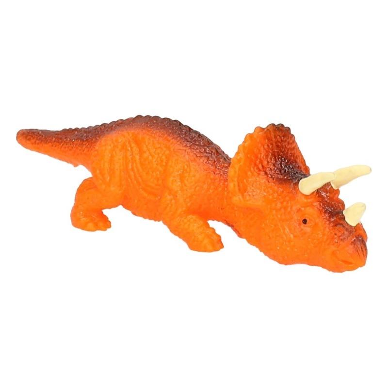 Dino World mini dino katapult Triceratops oranje Dino World goedkoop online kopen