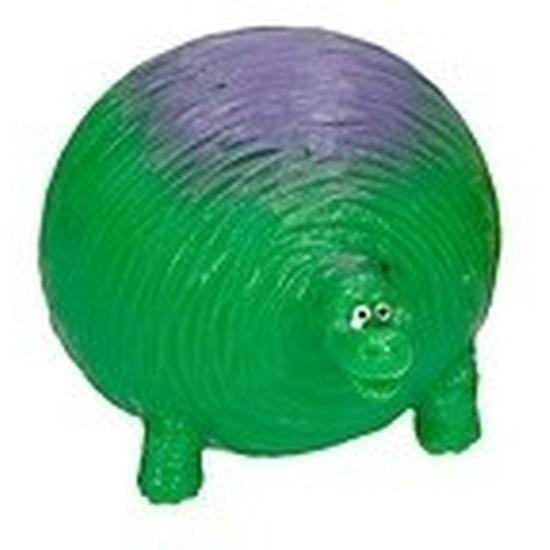 Speelfiguren sets Dino World splash figuurtje groen paars 5 cm