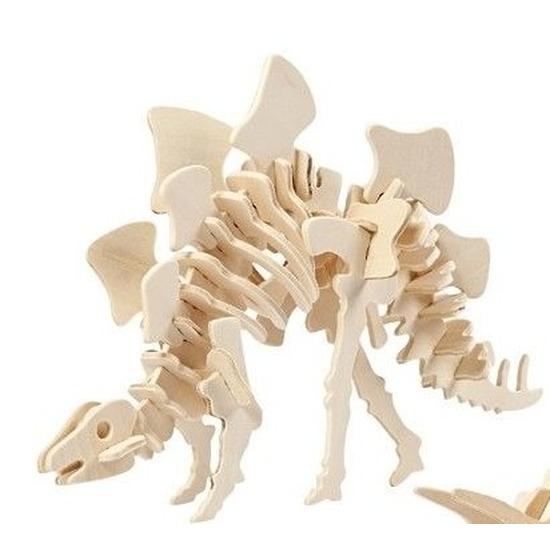 Dinosaurier Stegosaurus bouwpakket Geen Houten speelgoed