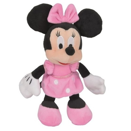 Disney pluche Minnie Mouse knuffel 20 cm