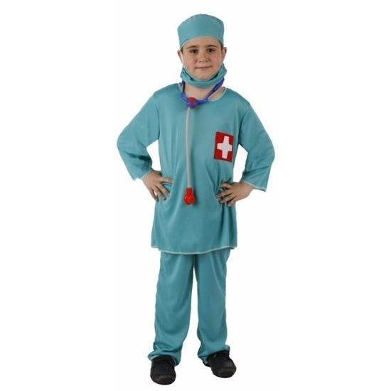 Beroepen kostuums Atosa Dokter chirurg kostuum voor jongens
