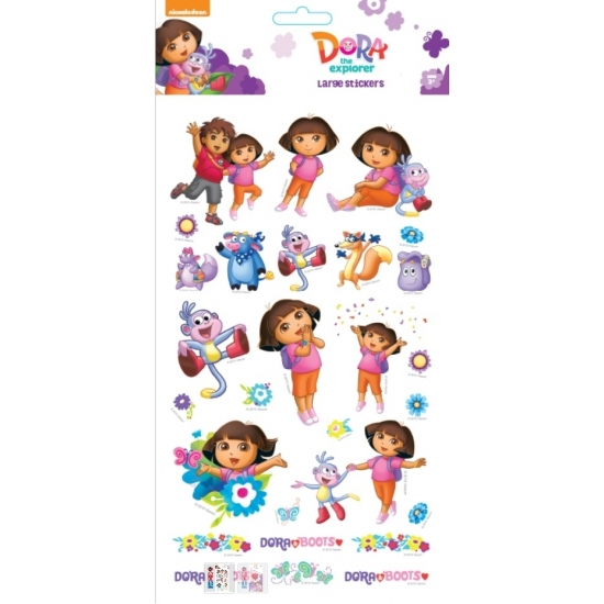 Dora Thema Stickers Groot