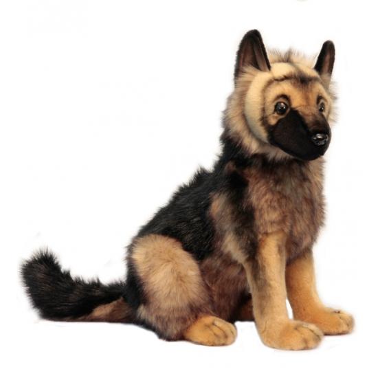 Duitse Herder pup knuffel 41 cm