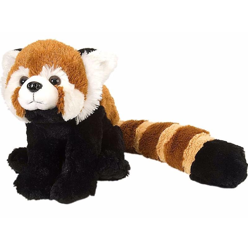 Dwerg panda rood 30 cm