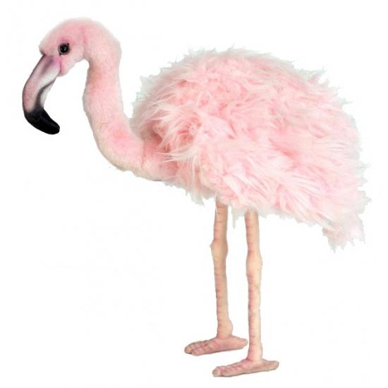 Flamingo knuffels 38 cm