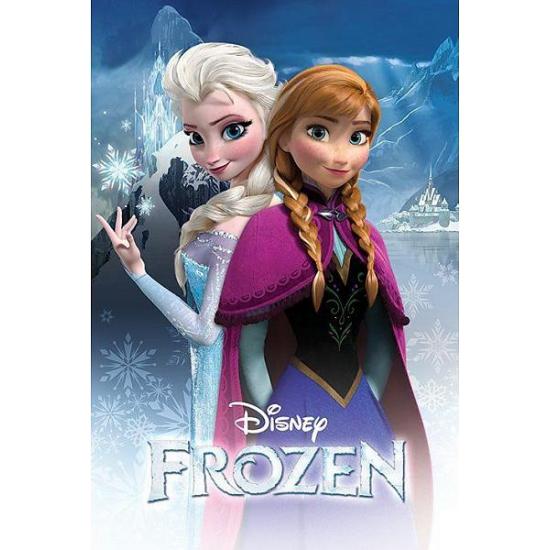 Woonaccessoires Disney Frozen poster Anna