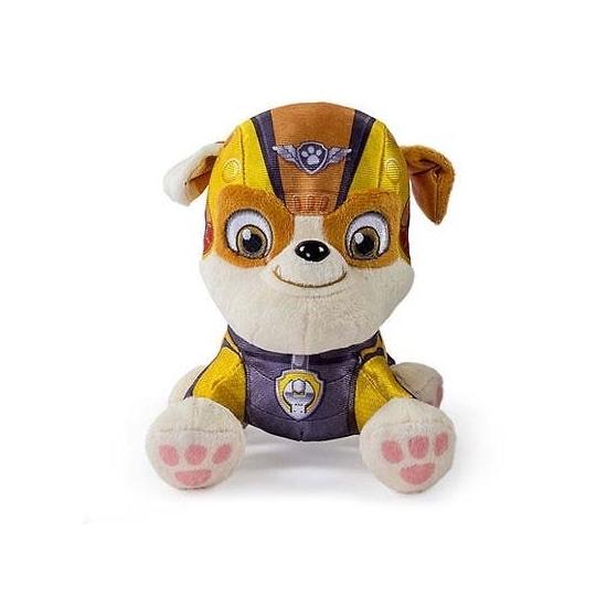 Gele Paw Patrol knuffel 15 cm Nickelodeon