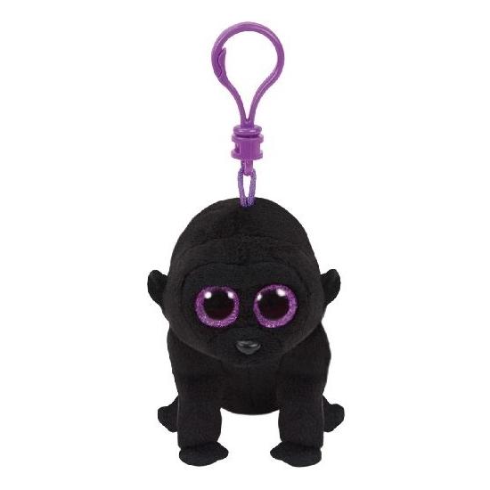 Gorilla Ty Beanie George sleutelhanger 12 cm