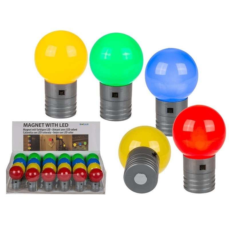 Geen Groen magneet LED lampje 4,5 cm Kantoorartikelen