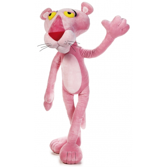 Grote Pink Panther knuffel 100 cm.