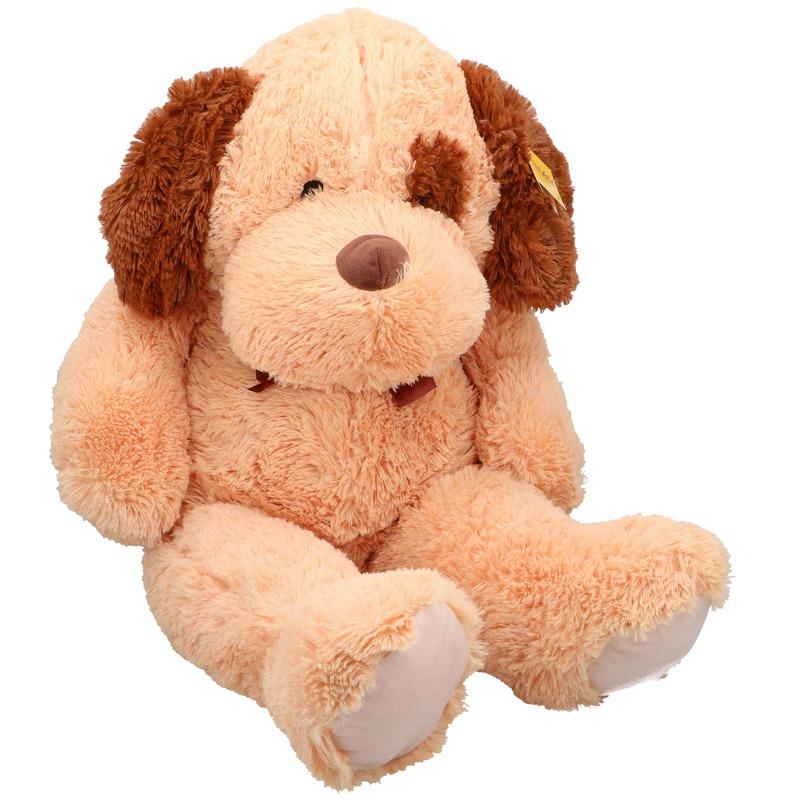 Grote pluche honden knuffel 100 cm