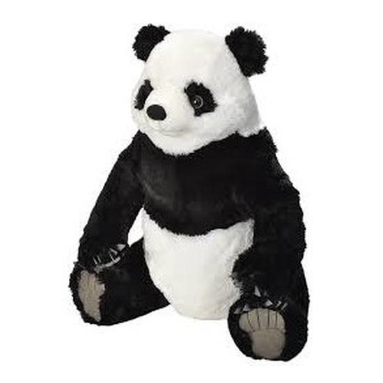 Grote pluche panda knuffel 60 cm