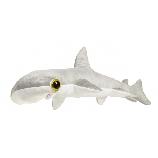 Grote vissen knuffel hamerhaai 110 cm