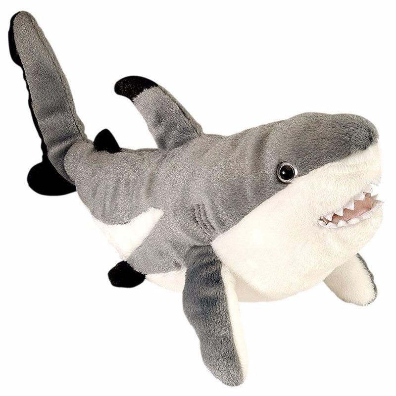 Haaien knuffeldieren Rif haai 30 cm